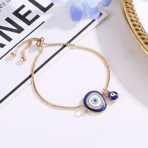 Jewelry - Evil Eye Adjustable Bracelet